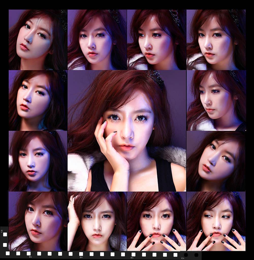 t-ara的经纪公司公开了成员素妍,智妍的未公开回归宣传照.