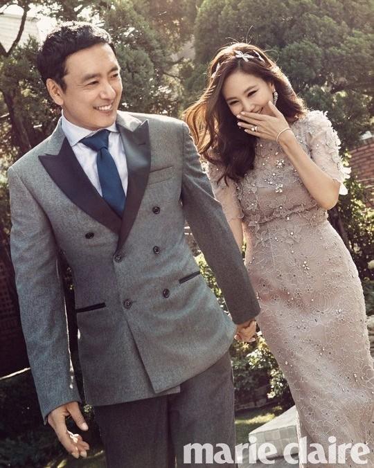 銀色夫妻金南珠–金承佑   拍攝結婚10周年婚紗海報  追蹤韓星網熱門