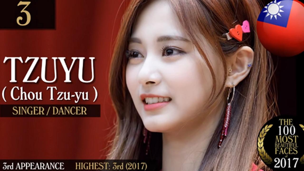 亚洲100最美面孔_「世界最美面孔100人」twice子瑜亚洲最美,更有众多韩流明星上榜!