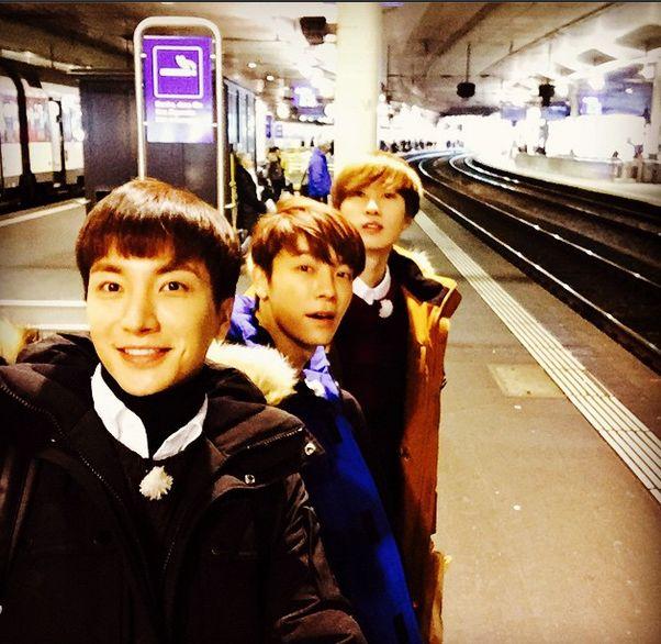 利特,银赫,东海拍摄节目《super junior 美好的一天》