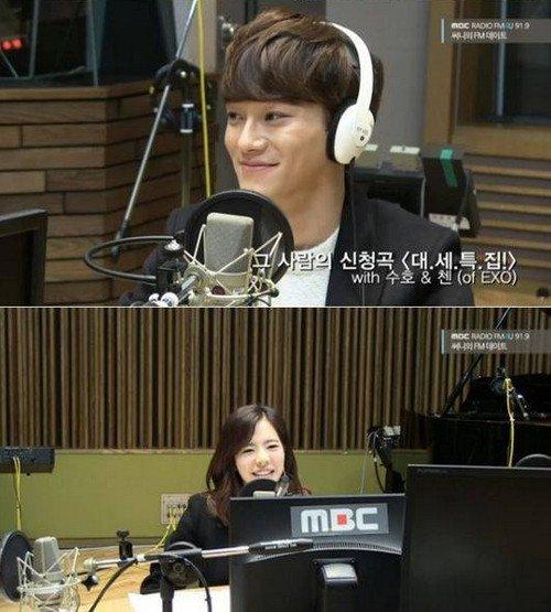exo成员喜欢的女团_EXO Chen最喜欢的少女时代成员? - KSD 韩星网 (明星)
