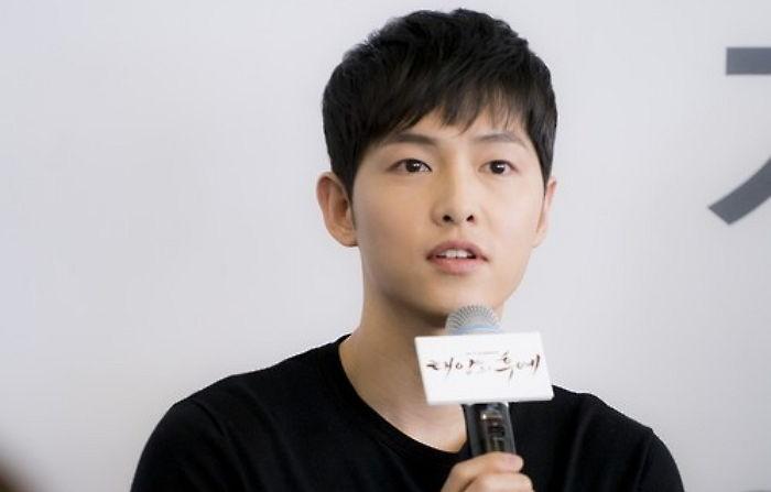 《太陽的後裔》宋仲基下周出演KBS九點新聞