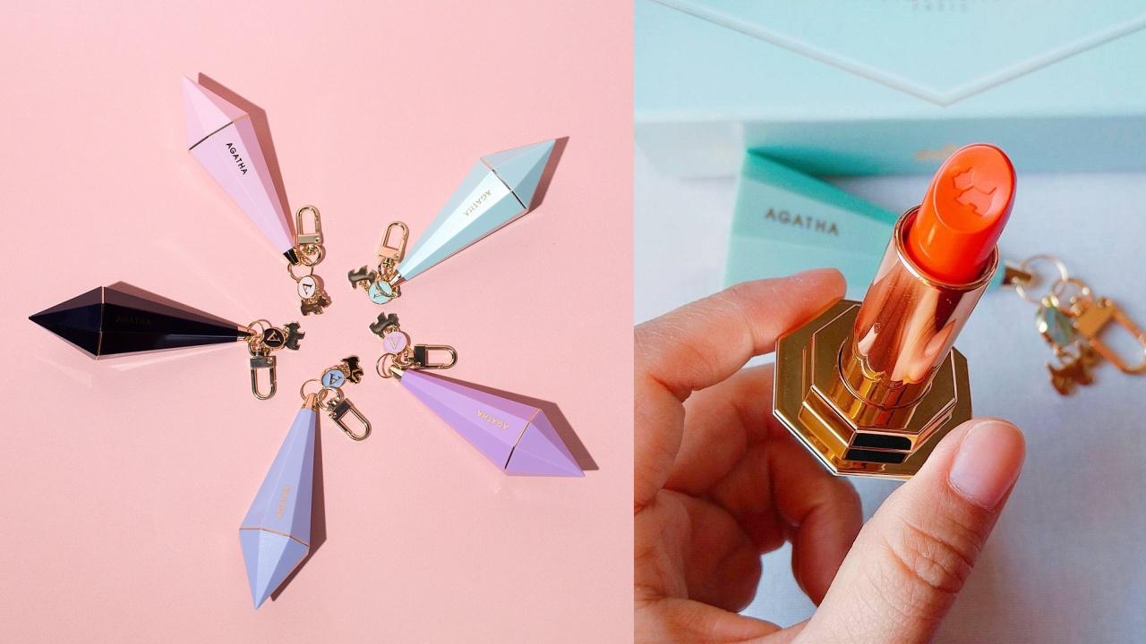 少女心炸裂! 朴信惠代言品牌推出鑽石唇膏吊飾,補妝+裝飾,一舉兩得啊!