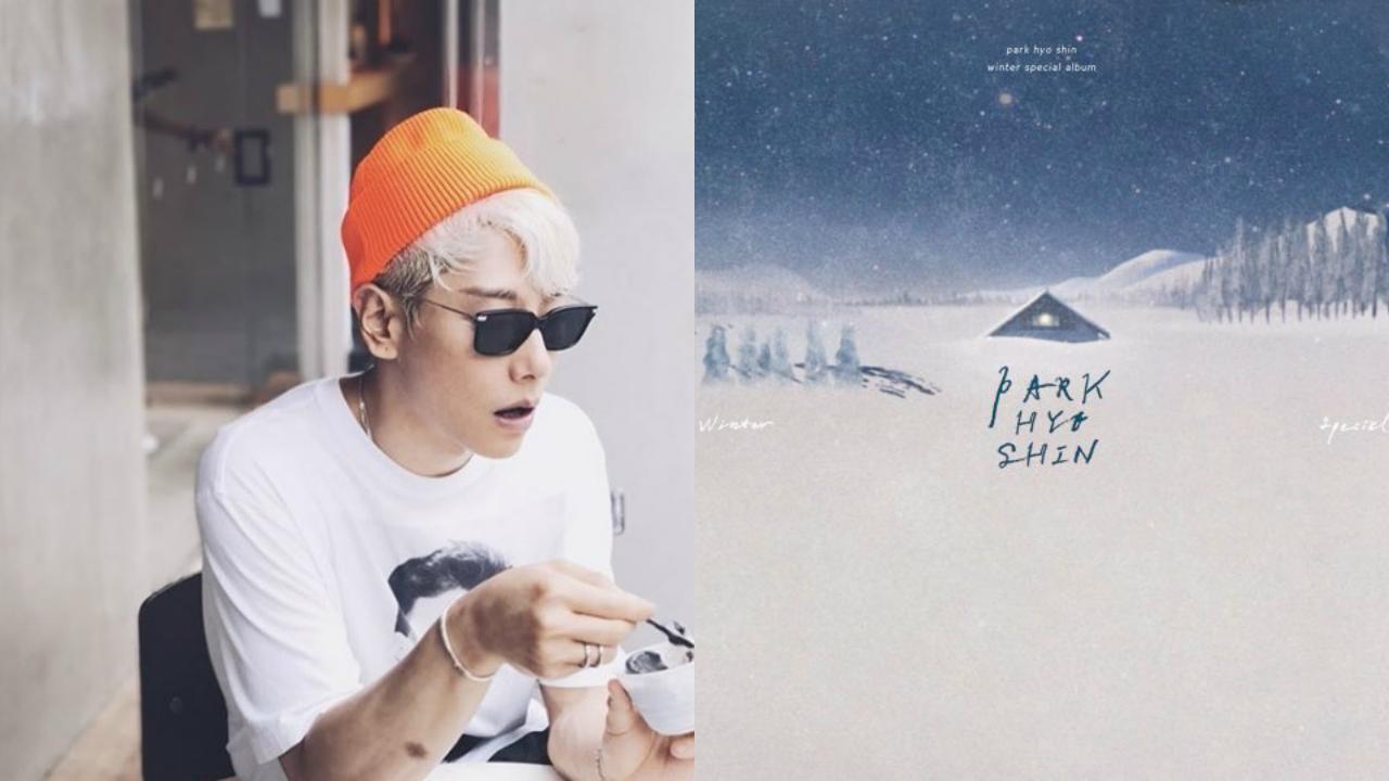不愧是朴孝信⋯⋯新年献礼「冬季的声音」击败劲敌 荣登 Gaon 周榜冠军宝座!