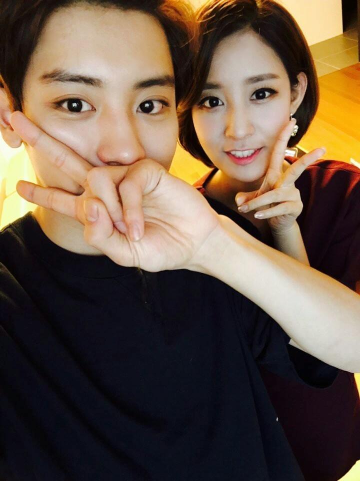 【你陪我长大,我陪你出嫁】—— EXO团员朴灿烈姐姐结婚了!好漂亮的新娘!