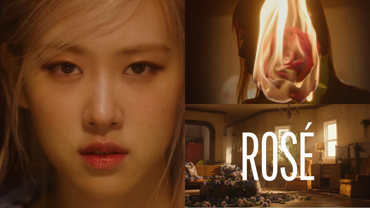 BLACKPINK ROSÉ 的 SOLO 曲预告初公开,33秒歌声曝光瞬间怀上三胞胎 - KSD 韩星网 (KPOP)