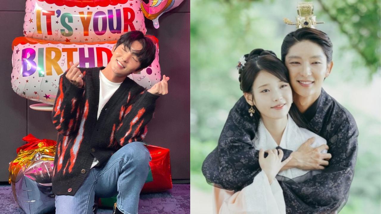 李准基的生日庆祝活动…来自IU的惊喜电话! 两人还表达了他们希望制作第二季《月之恋人:步步惊心:Rei》的愿望。