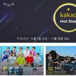 Wanna One險勝EXO奪第一! Kakao Hot Star賞投票結果出爐