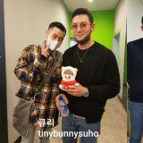 池昌旭、INFINITE聖圭休假結伴看音樂劇,遇到EXO SUHO粉絲也欣然答應拍照