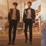 「花美男Bromance」南柱赫、金志洙新畫報!大長腿+微捲的髮型,兩人根本是雙胞胎!
