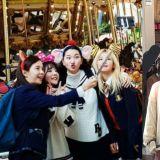 偶遇宋智孝、少時Sunny、Red Velvet瑟琪、張允珠在遊樂場拍攝!