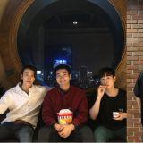 SJ东海、银赫、始源以「看电影」结束一周!经纪人留言:SHE重聚 始源回覆:男人版
