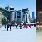 【首尔景点】「来著会去韩国的朋友又多个好去处」睽违两年~首尔广场溜冰场再次开幕!