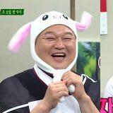 《認哥》MC和TWICE戴兔子帽集體賣萌,姜鎬童的可愛細胞又再次爆發了~^^