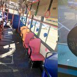 公车上打盹不用再撞到头痛啦!深夜公车设置防撞机制