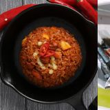 三養辣火雞又推新品啦:這次是炒飯版三角紫菜包飯!你敢嘗試嗎?