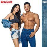 这肌肉太辣!MAMAMOO Solar与健身教练梁驰升同登杂志封面,大秀川字腹肌