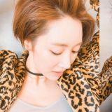 短发+豹纹:高俊熙告诉你什么叫「帅气十足」!