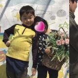 三胞胎中的可愛民國!在幼稚園舉辦了婚禮還拍了結婚照呀!
