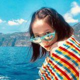Krystal义大利旅行晒美照 这就是阳光和活力的味道啊!