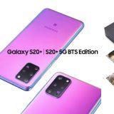 手机品牌与BTS防弹少年团推出Galaxy合作款「S20+ BTS Edition」:7月9日发售!