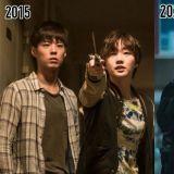 电影《储物柜女孩》、《永生战》剧照:被「鬼怪夫妇」守护的朴宝剑,过了5年依旧是少年啊!