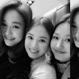 宋慧乔上传与玉珠铉&李真合照:「我们高一就认识了! 」20年友情惹人羡