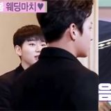 Block B的Rapper看到「美男」都这样吗?Zico完全被池昌旭迷住…P.O还直接对车银优献吻!