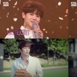 【有片】Highlight《人气歌谣》最新Ending:模仿尹斗俊和李起光10年前合拍的广告