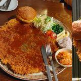 【济州岛必吃】没吃到姜虎东的招牌炸猪排?这家的「王」炸猪排比脸还大