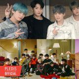 【男团品牌评价】BTS防弹少年团夺压倒性胜利 SEVENTEEN 与 EXO 分占二、三名