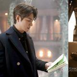 《The King:永远的君主》官方公开李敏镐花絮照:「认真读剧本的男人最帅气!」