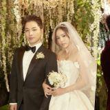 太阳在婚礼上对闵孝琳唱《眼,鼻,口》