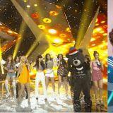 Red Velvet與BLACKPINK在《人氣歌謠》Ending小互動!兩團玩在一起太可愛啦!