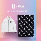 BTS防弹少年团 X FILA 羽绒衣今日发售!还有机会获得演唱会上的毛毯!