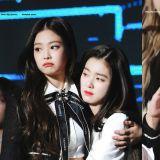 Red Velvet Irene直接扑在 BLACKPINK Jennie的怀里!甜蜜羡煞旁人❤