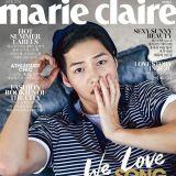 宋仲基擔任時尚雜誌Marie Claire6月號封面人物
