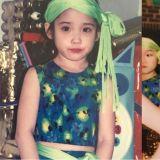 IU更新小時候照片,從小就是舞台體質!網友:「真的一點都沒變呢!」