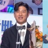 【2019 KBS演藝大賞】恭喜!朴柱昊發表《超人回來了》大賞感言:明年我要成為三個孩子的爸爸了~