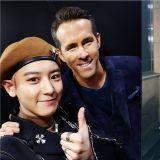 EXO燦烈見到「死侍」超興奮!「我是成功的粉絲」、「他說看到我的死侍裝扮 好緊張」、「這是真實的嗎…?」