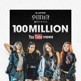 BLACKPINK歌曲《WHISTLE》MV點擊量破億 寫下新人團最短時間記錄