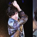 BTS防弹少年团V又去烫「人生发型」了!表情太震惊,是被自己帅到了吗?XD
