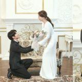 《恶之花》甜蜜婚纱照公开♥ 李准基的笑太真心了,文彩元高雅又大气~