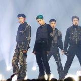EXO 蝉联各大单周榜冠军 已累积两座音乐节目奖杯!