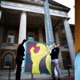 KPOP歌手最初!WINNER宋旻浩的畫作將在倫敦畫廊進行展示,宋畫伯走向國際啦!
