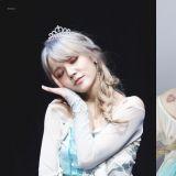 AOA智珉扮成《冰雪奇緣》Elsa,網友:好冷豔性感的女王啊~!