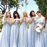排場夠大!「地表最強伴娘團」TWICE現身夏威夷為ONCE新娘送上驚喜!