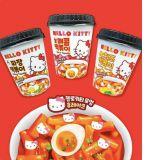 當Hello Kitty遇上辣炒年糕...這麼可愛根本捨不得吃XD