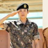 要成为「真正的男人」了!朴炯植今日入伍,结束军事基础训练后,将在「司令部宪兵队」服役!