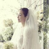 太美了吧!崔智友婚禮照公開 「我們會互相尊重和照顧 一起好好生活」